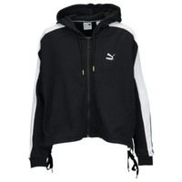 PUMA Heart Lace Up T7 Track Jacket - Women's at Lady Foot Locker