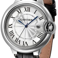Cartier men and women exquisite fashion quartz watch F Black
