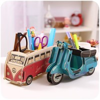 Auto Paper made Pen Holder Stationary