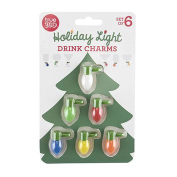 Holiday Light Drink Charms By True Zoo