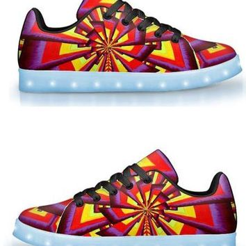 ALIUME FRACTAL BY ALEX ALIUME - APP CONTROLLED HIGH TOP LED SHOE