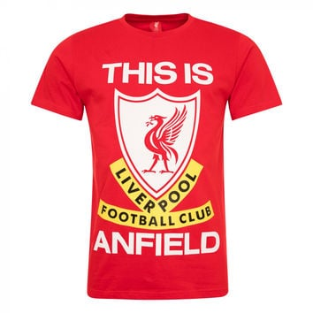 Liverpool FC  - This Is Anfield Red T-Shirt