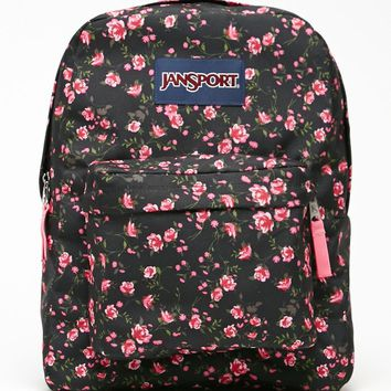 JanSport Superbreak Lipstick School Backpack - Womens Backpack - Pink - One