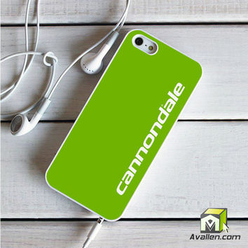 Cannondale Bike Team Bicycle Cycling Logo iPhone 5|5S Case by Avallen