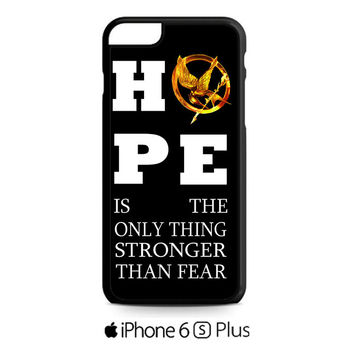 Hunger Games Hope Quotes iPhone 6S  Plus  Case
