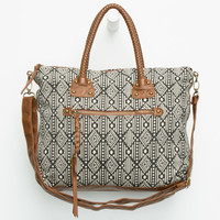 T-SHIRT & JEANS Braided Handle Tote | Totes & Messenger Bags