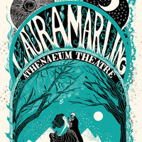 """Limited Edition """"Laura Marling"""" Screen-Printed Poster"""