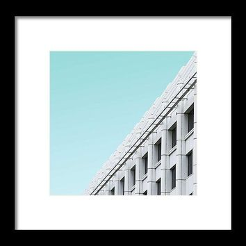 Urban Architecture - Oxford Street, London, United Kingdom - Framed Print