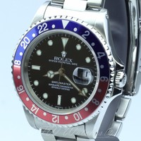 Rolex GMT Master II Pepsi 16710 Red & Blue - Beautiful Condition!