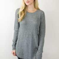Fall Knit Sweater Top