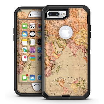 The Western World Map - iPhone 7 Plus/8 Plus OtterBox Case & Skin Kits