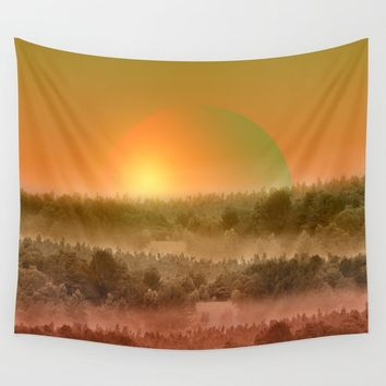 Landscape & gradients XVIII Wall Tapestry by vivianagonzalez