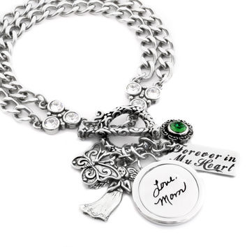 Personalized Engraved Signature Bracelet