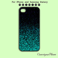 Sparkling green,Glitter,iPhone 5,iPhone 5C Case, iPhone 5S case, Phone cases, iPhone 4 Case, iPhone 4S Case, iPhone case,Galaxy s3,Galaxy s4