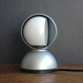Eclisse Table Lamp Designed By Vico Magistretti For Artimede - Mid Century Modern Space Age Lamp