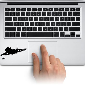 Airplane 2 Vinyl Decal Sticker for Laptop Mac Car Window Cup Water Bottle Yeti Tumbler  Truck Stickers Decal Made in US (Message for Color)