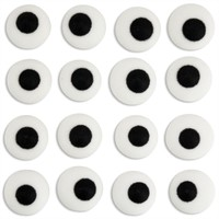 Large White Royal Icing Eyes 50