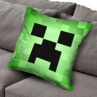 game Minecraft 8bit pillow case, Custom Square Pillow Case popular