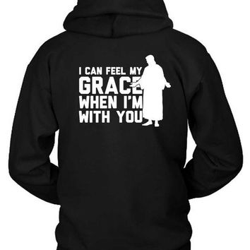 ESBH9S The Weeknd I Cannot Feel My Grace When I Am With You Hoodie Two Sided