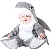 InCharacter Costumes, LLC Silly Shark, Grey/White, Small(6-12 Months)
