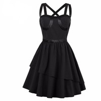 """""""The Shining"""" Goth Party Dress"""