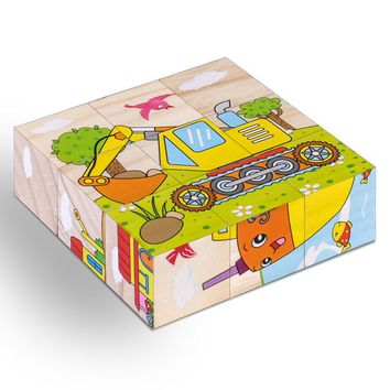 Wooden 3D Jigsaw Puzzle