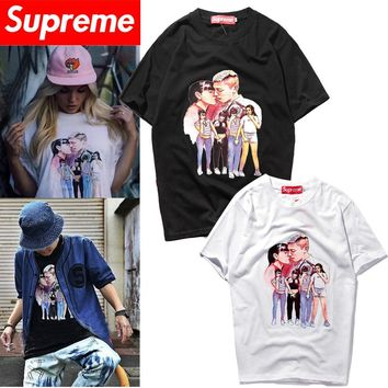 Supreme Unisex Short Sleeve T-shirts [419618488356]