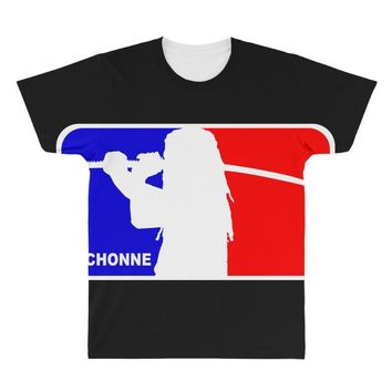 michonne nba style All Over Men's T-shirt