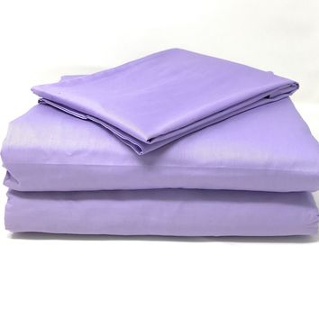 Tache Lavender Dreams Bed Sheet (Fitted Sheet)