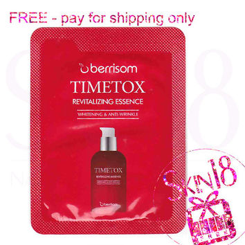 Freebies - Berrisom Timetox Revitalizing Essence (Sample Pack)