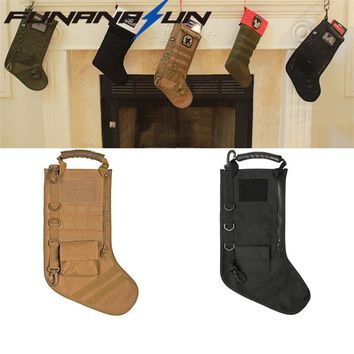 Tactical Molle Christmas Stocking Bag Military Ammo Bullet Pouch Dump Drop Magazine Storage Bag