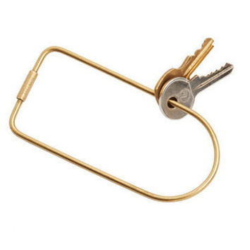 """Bend"" Contour Key Ring by Karl Zahn"