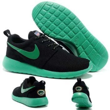 Nike Green Bay Packers London Olympics Black Shoes