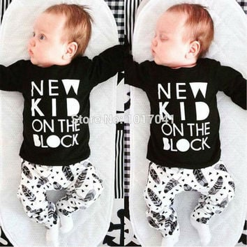 New Kid On The Block Black and White Outfit