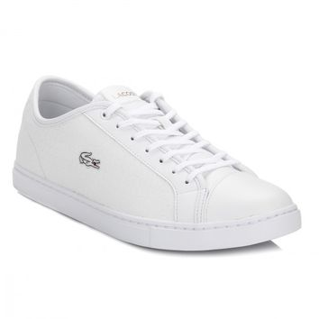 Lacoste Womens White Showcourt RCT Trainers
