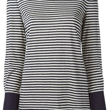 Tory Burch Striped T Shirt