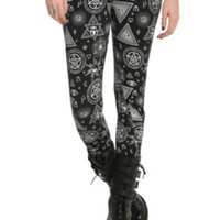 Jawbreaker Magic Symbols Leggings