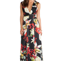 Alice + Olivia Triss Sleeveless Maxi Dress in Blossom Montage from REVOLVEclothing.com