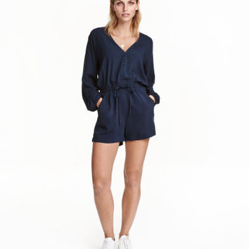 H&M V-neck Jumpsuit $24.99