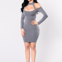 I'm That Chick Dress - Grey
