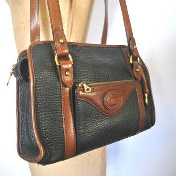 Dooney and Bourke Doctor Bag Purse / speedy handbag / 1980s