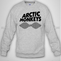 Bull-shirt.com arctic monkeys Long Sleeve Crewneck Design Print for Long Sleeve Crewneck Bull-shirt.com