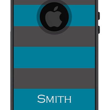 Otterbox iPhone Case Commuter Series iPhone 5 5s Personalized Men Guys Rugby Stripe Preppy Cell Phone Protective Plastic Hard Cover OB-1096