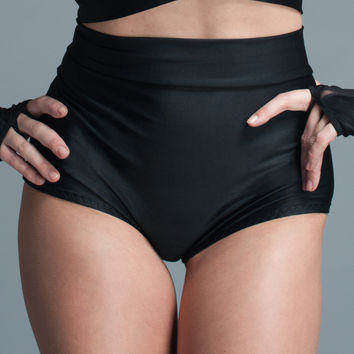 Cheeky High Waisted Lycra Shorts Lingerie In Stock S/M/L/2x/3x Sexy Panties