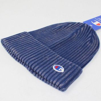 PEAPV9O Champion Fashion Winter Purple Color Embroidery Men And Women Couples Knitted Hats G