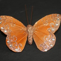 """Butterfly with Metal Clip 2.5"""" X 4"""""""
