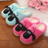 Cartoons Cotton Home Couple Winter Slippers [9067742020]