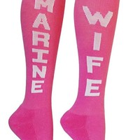 The Sox Box Marine Wife Socks!