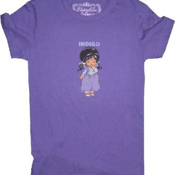 Rainbow Brite Indigo Color Kid Juniors Tee