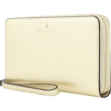 Kate Spade New York - Wristlet - Saffiano Gold